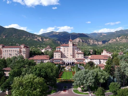 Enter to win a trip for two with airfare to The Broadmoor Resort in Colorado Springs this holiday season.