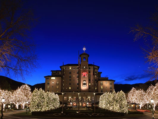 Win a for two with airfare to The Broadmoor Resort in Colorado Springs this holiday season.
