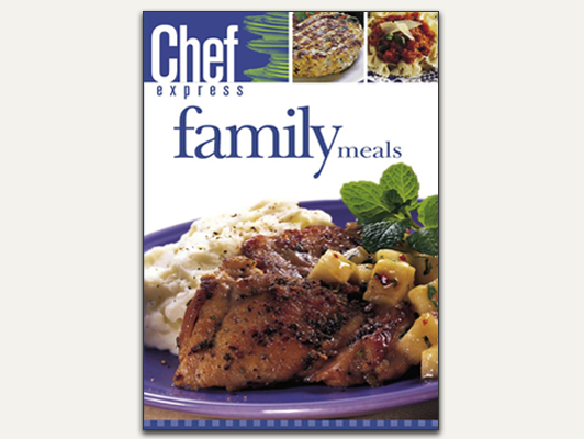 Features everyday meals that are simple, nutritious, and satisfying.