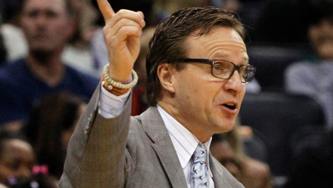 Oklahoma City Thunder coach Scott Brooks is coaching the Western Conference All Stars.