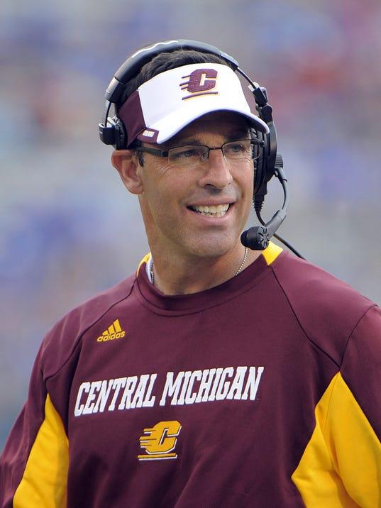 NCAA Football: Central Michigan at Kansas