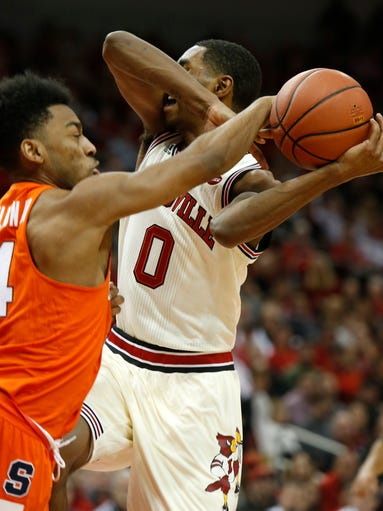 Gallery l louisville defeats syracuse for King fish louisville