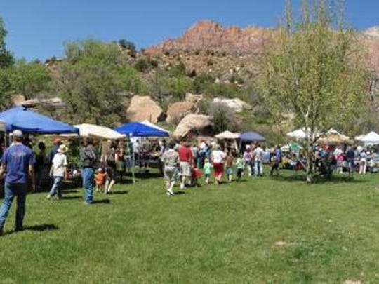 The Zion Canyon Earth Day Celebration will celebrate its 12th anniversary Saturday, April 23 in Springdale.