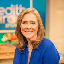 Meredith Vieira in her new NBC studio in New York City on Sept. 3, 2014. Vieira who is the former co-host of The Today Show and The View, will host a new daytime talk show, premiering on Sept., 8.