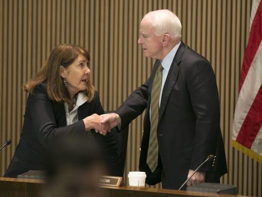 Ann Kirkpatrick and John McCain