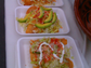 Tacos and Mexican dishes are piled high for tastings at the 2012 LA Taco Fest.