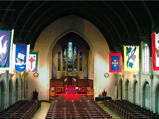 Second Presbyterian Church, 7700 N. Meridian St., (317) 253-6461. Rental fee: Members (sanctuary, $125; chapel, $100); nonmembers (sanctuary, $1,000; chapel, $300). Couples must participate in a marriage preparation program.