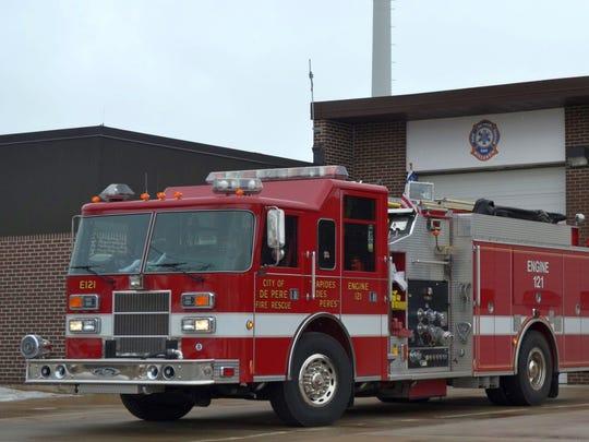 Dennis L. Rubin succeeds Jeff Roemer, who had been interim De Pere fire chief.