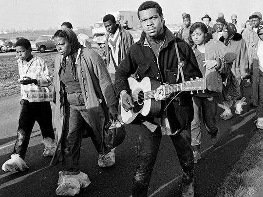 Struggle for equality was set to music