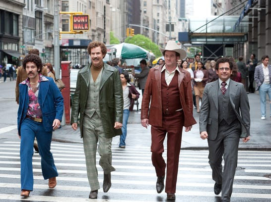 'Anchorman 2': New York City