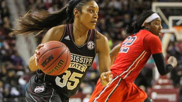 Mississippi State freshman Victoria Vivians earned honorable mention AP All-American honors.