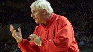 Indiana University coach Bob Knight was infamous for his meltdowns with the media.