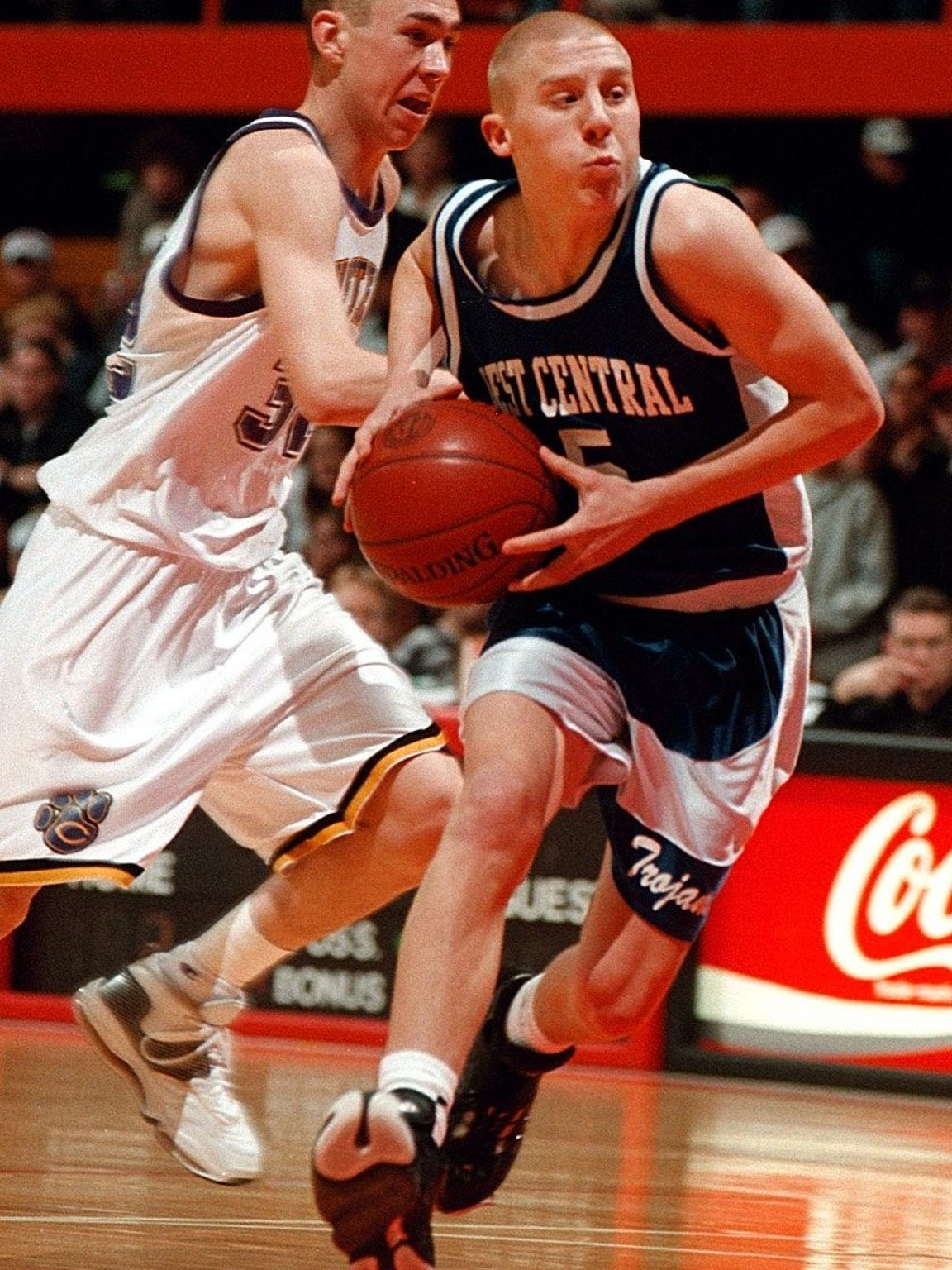 West Central's Josh Mueller was Argus Leader Player of the Year for 2001.