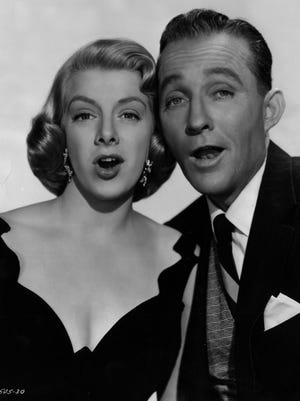 """Rosemary Clooney and Bing Crosby in 1954. Their """"White Christmas"""" was the top-grossing film that year and remains a classic."""