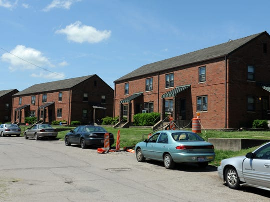 A view of some of the apartments at the Coopermill Manor in Zanesville. The apartment complex is receiving a renovation for the first time in more than 30 years. Some of the proposed renovations include replacing windows, doors and fixtures, new floors, upgrading the sewer system for the complex and larger ovens, refrigerators and kitchen space.