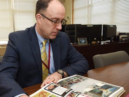 Arlington schools Superintendent Brendan Lyons in the