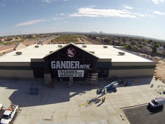 Outdoor sports goods chain Gander Mountain is scheduled to open its new East El Paso store May 28.