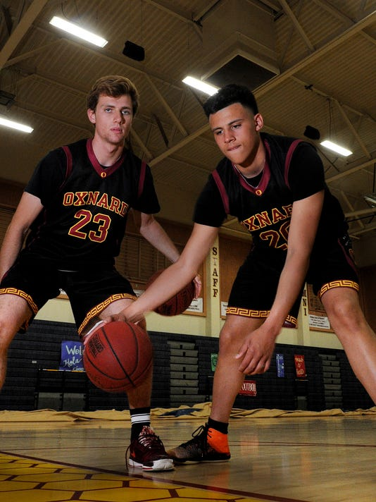 Boys Basketball players of the year 1