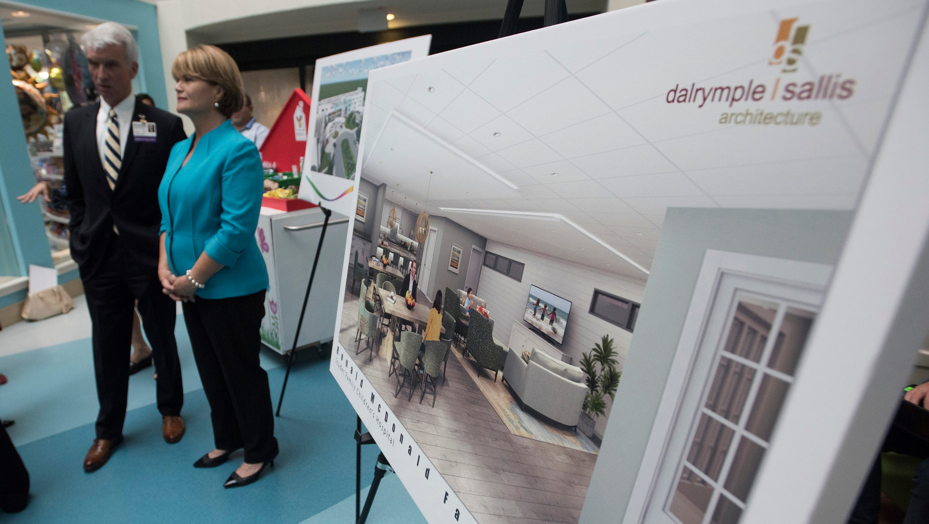 New ronald mcdonald family room planned for sacred heart for Ronald mcdonald family room