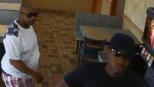 Metro police are seeking the public's help to identify two men they say robbed a Subway at 414 S. Gallatin Pike through images taken by surveillance cameras at the restaurant.