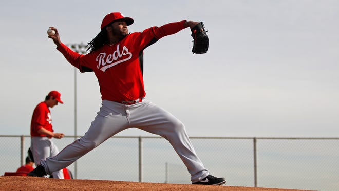 Johnny Cueto is expected to make his third consecutive Opening Day start for the Reds.