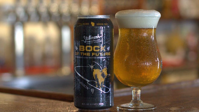 Stillmank Brewing Co. is bringing back its Bock of the Future, but this time in 4-packs of 16 ounce cans instead of 22-ounce bombers.