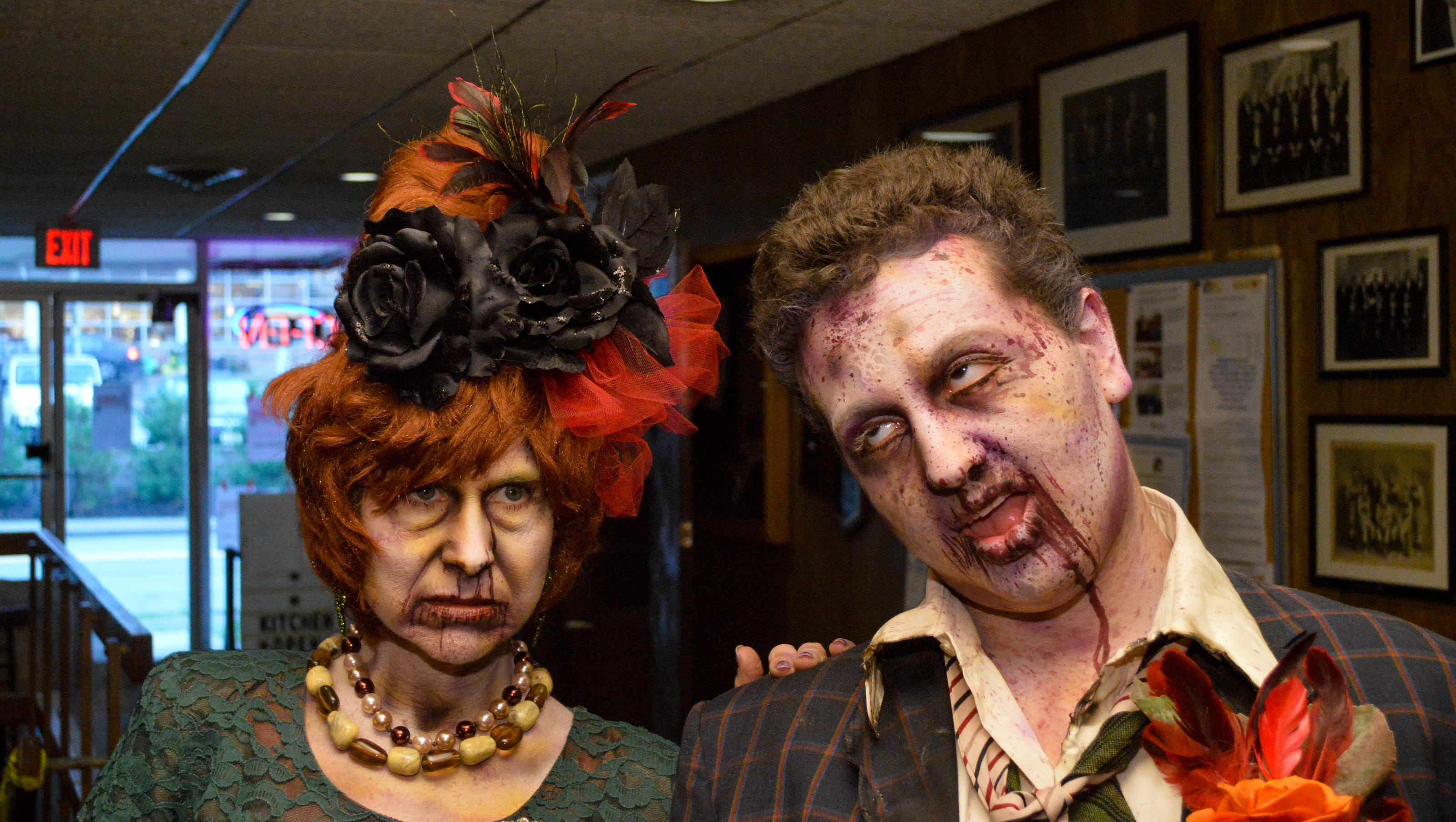 Zombie Wedding Set For Jersey Shore Bowling Alley