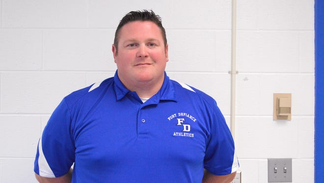 Damian Fink is the new baseball coach at Fort Defiance High School. Fink joined the program in late May as an assistant coach after former coach Derek Butler stepped down.