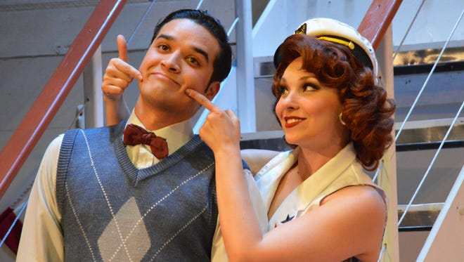 """The UTEP Dinner Theatre's production of the Cole Porter classic """"Anything Goes"""" opens Friday at the theater located in the Union East building on the University of Texas at El Paso campus."""
