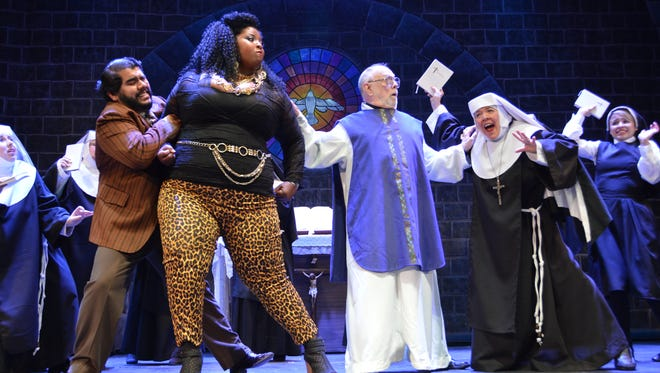 """The Tony Award-nominated musical """"Sister Act"""" opens Friday at the UTEP Dinner Theatre."""