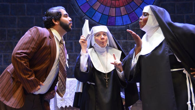 """The Tony Award-nominated Broadway musical """"Sister Act"""" is now playing at the UTEP Dinner Theatre through July 30."""
