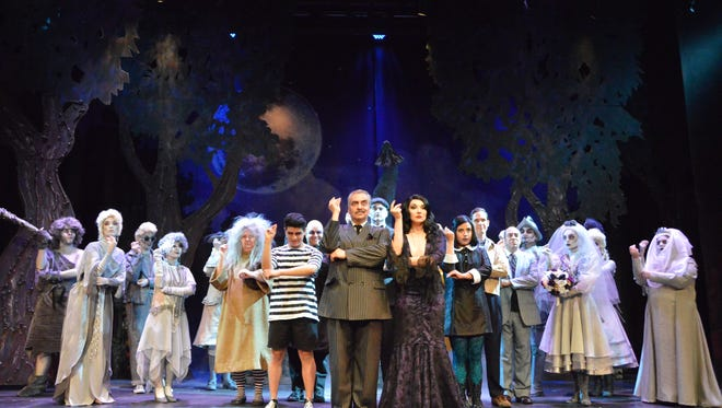"""The UTEP Dinner Theatre's run of hit Broadway musical """"The Addams Family"""" has been extended through Nov. 12."""