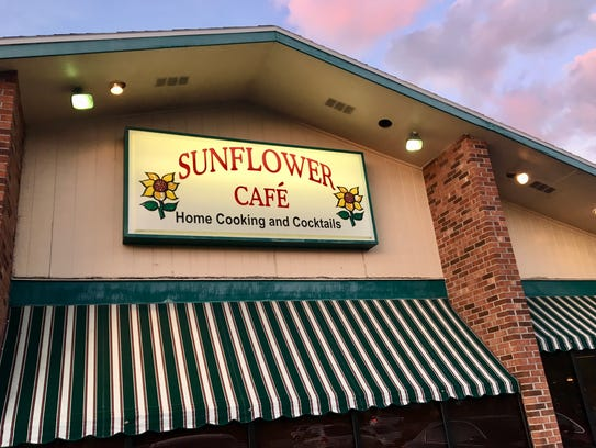 Sunflower Cafe in Iona.