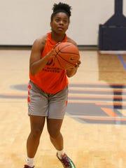 UTEP freshman guard Jordan Jenkins brings her game