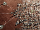 A rendering of SpaceX and Elon Musk's vision of a city