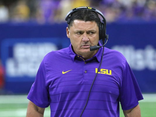 NCAA Football: Louisiana State vs Brigham Young