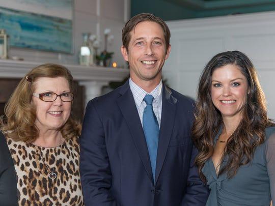 Karen Mann, Jonathan Schwiering and Melissa Shine