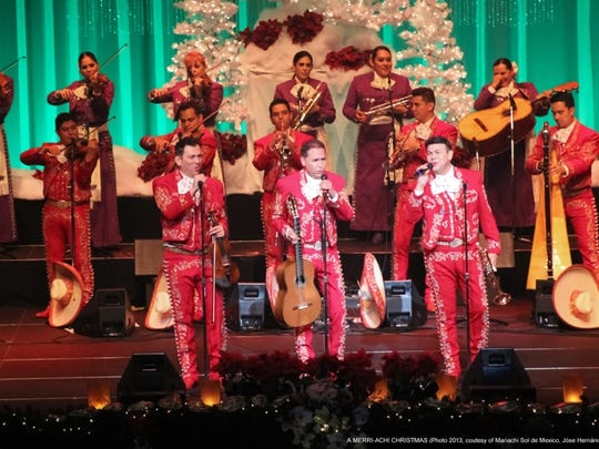 Mariachi Sol de Mexico will perform a holiday concert in December.