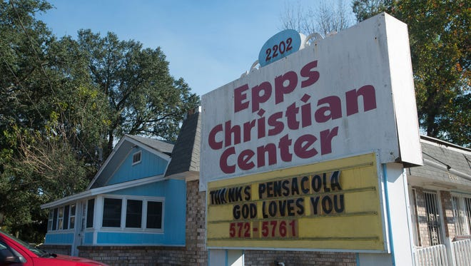 The Epps Christian Center in Pensacola is pictured in November 2015.