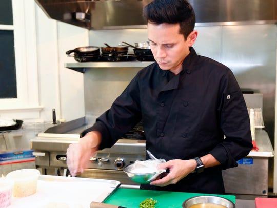 Mr. Koo's Kitchen Chef/Owner Ben Pope in Irvington