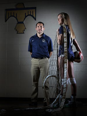 The El Paso Times volleyball Player of the Year is Coronado's Campbell Bowden, and the Coach of the Year is Coronado's Raul Lawrence.