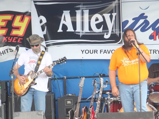 Gasoline Alley performed Wednesday during the Red,