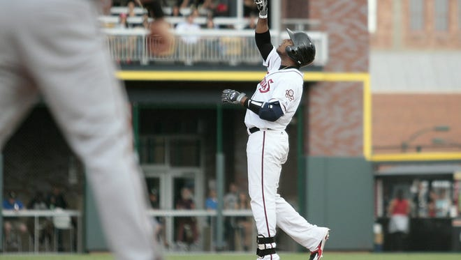 Rymer Liriano was acquired by the Milwaukee Brewers from the San Diego Padres on Thursday.