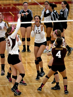 Ankeny and Centennial (shown here Oct. 7 when they met) are both top five ranked teams in Class 5-A.