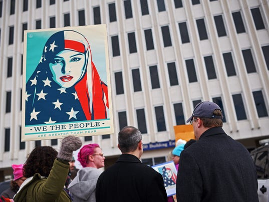 Immigration Ban Protest