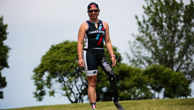 Hailey Danz was treated at Children's Hospital of Wisconsin before she became a successful triathlete.