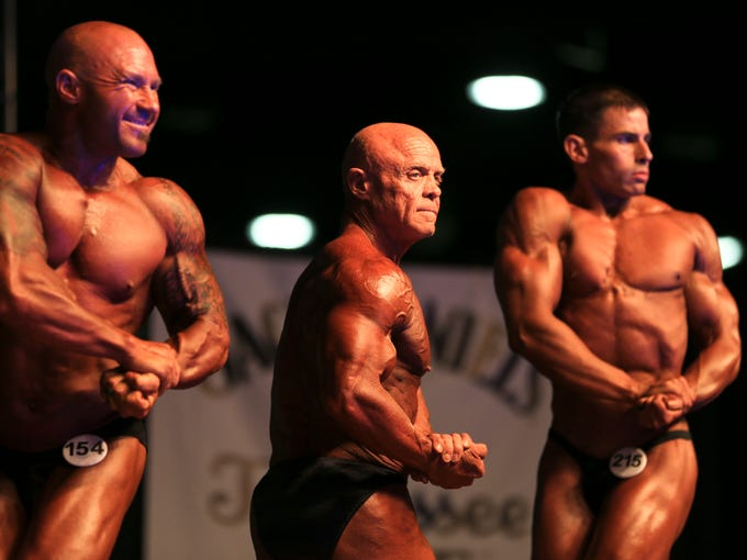 Moments From Past Kentucky Muscle Competitions