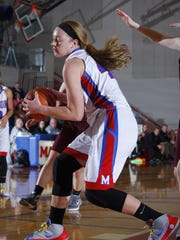 Mason's Autumn Kissman, who is signed with Oakland, had 15 double-doubles last winter for the Bulldogs.