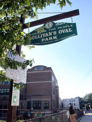 Sullivan Oval Park in the Nodine Hill section of Yonkers on Aug. 23, 2016.