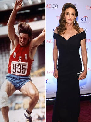 Caitlyn Jenner, who transitioned from Bruce Jenner, is the world's most famous transgender person based largely on Olympic glory in 1976.